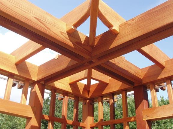 ديكورات خشبية الاعين للحدائق اشكال
